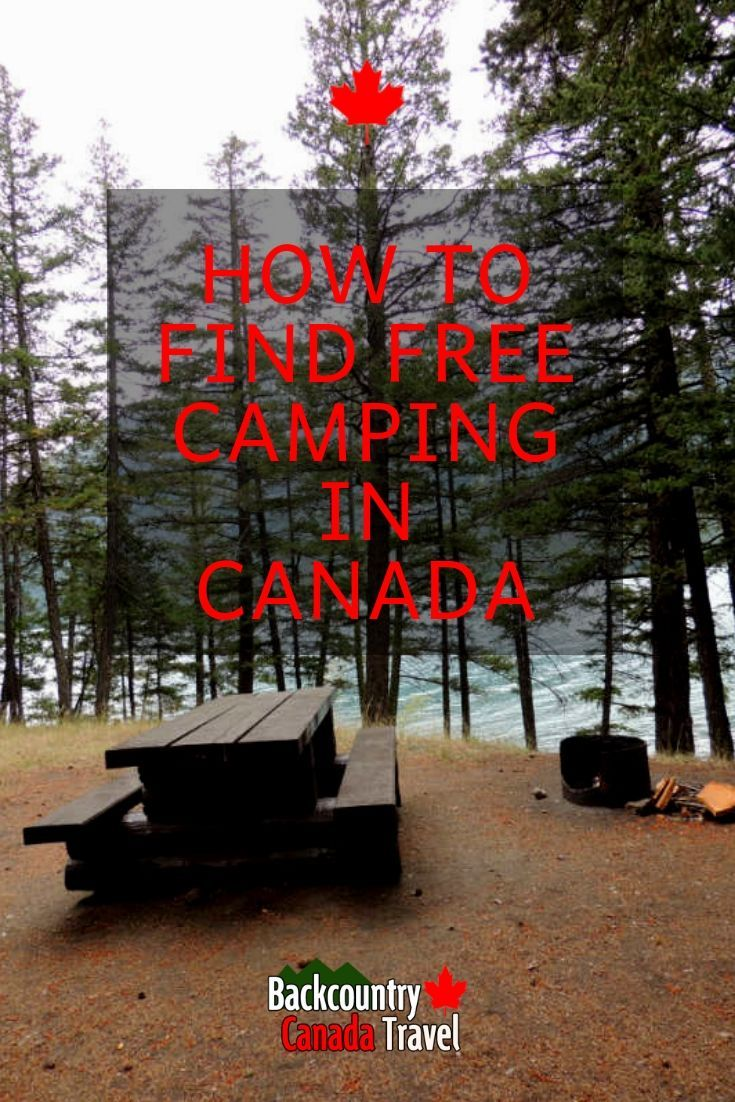 How To Find Free Camping In Canada Niagara falls camping