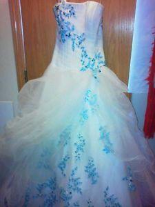 Teal Wedding Dresses   Google Search