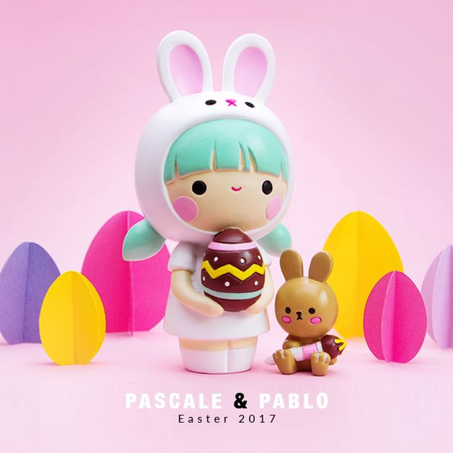 A super cute easter gift join the egg hunt with pascale pablo a super cute easter gift join the egg hunt with pascale pablo momiji are message dolls inside each one theres a tiny folded card for your own negle Choice Image
