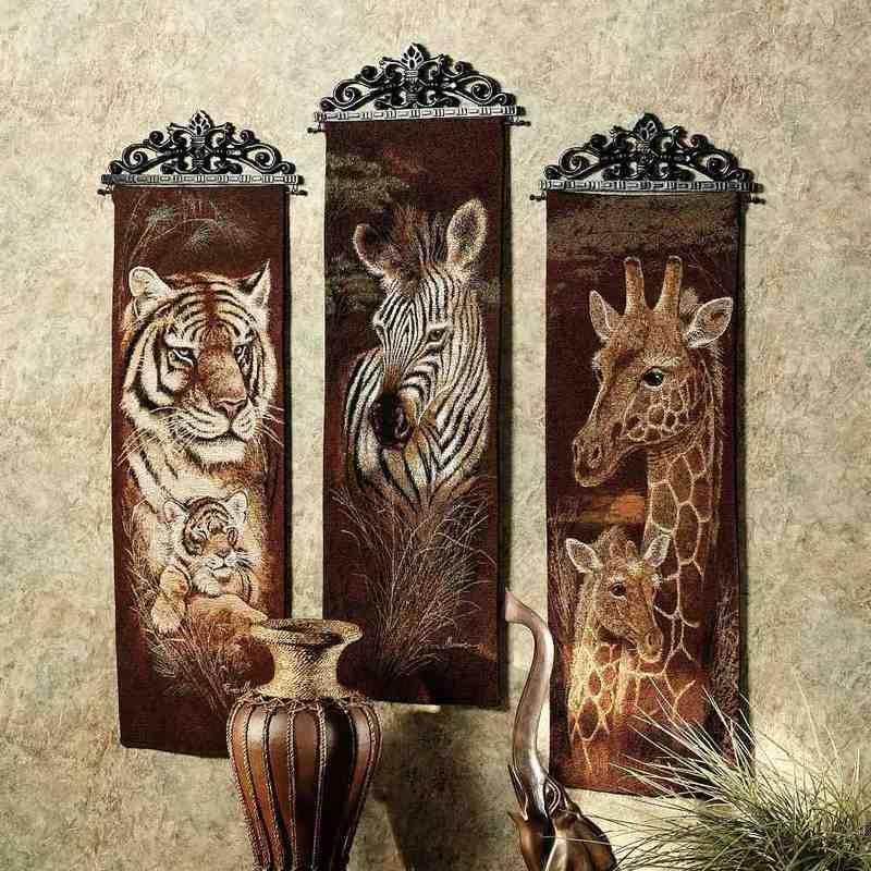 Nice Safari Bathroom Decor