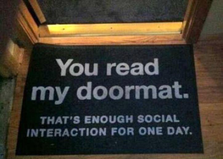 Best Doormat Ever Clean Funny Pictures Funny Doormats