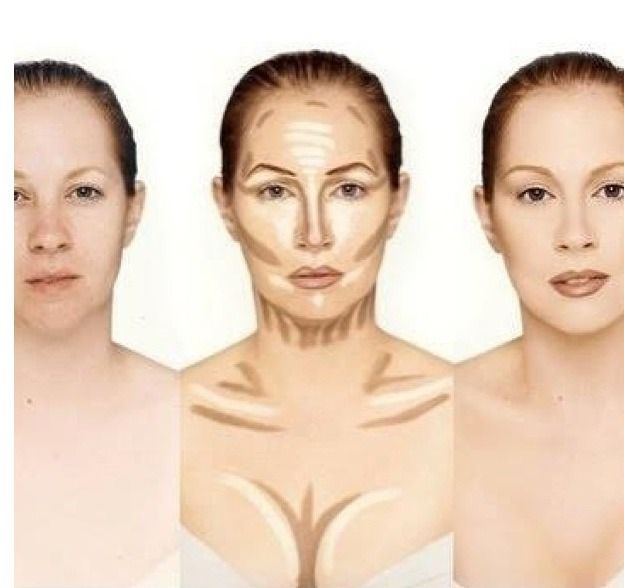 How To Contour Your Face Neck And Chest | Beauty - Hair, Makeup ...