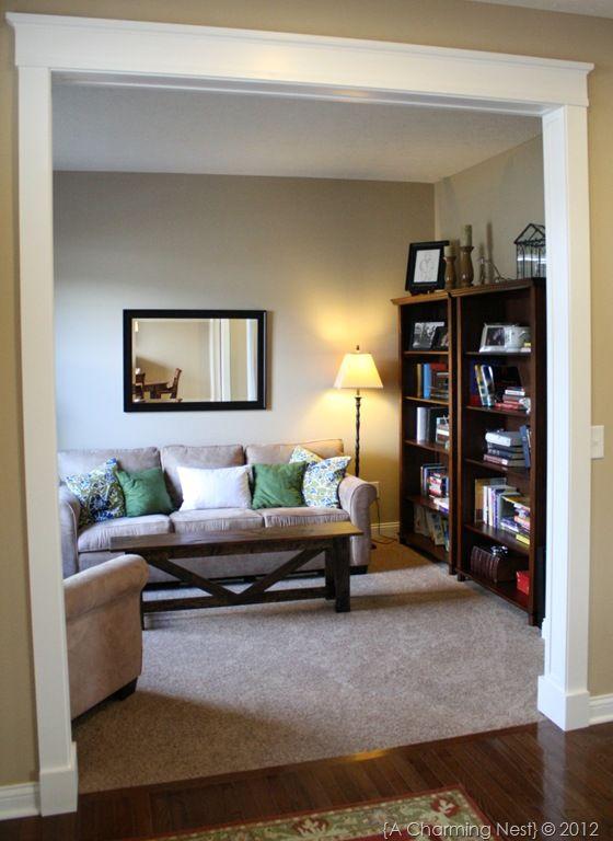 Dreamin And Schemin Big Ideas Living Room Diy Door