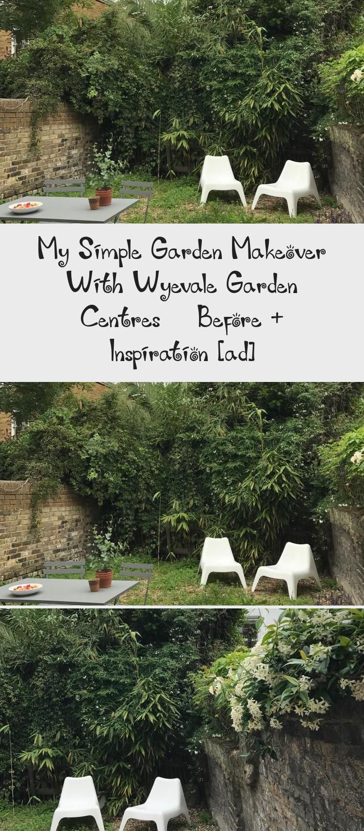 My Simple Garden Makeover With Wyevale Garden Centres Before