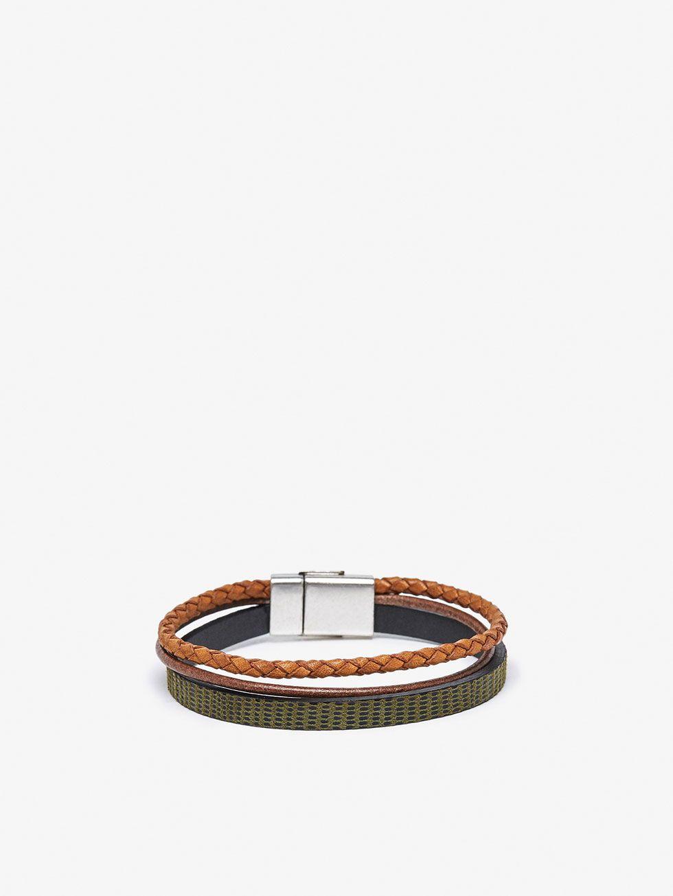 835921e8e0c13 Bracelets - Accessories - MEN - Massimo Dutti   [DETAILS] in 2019 ...