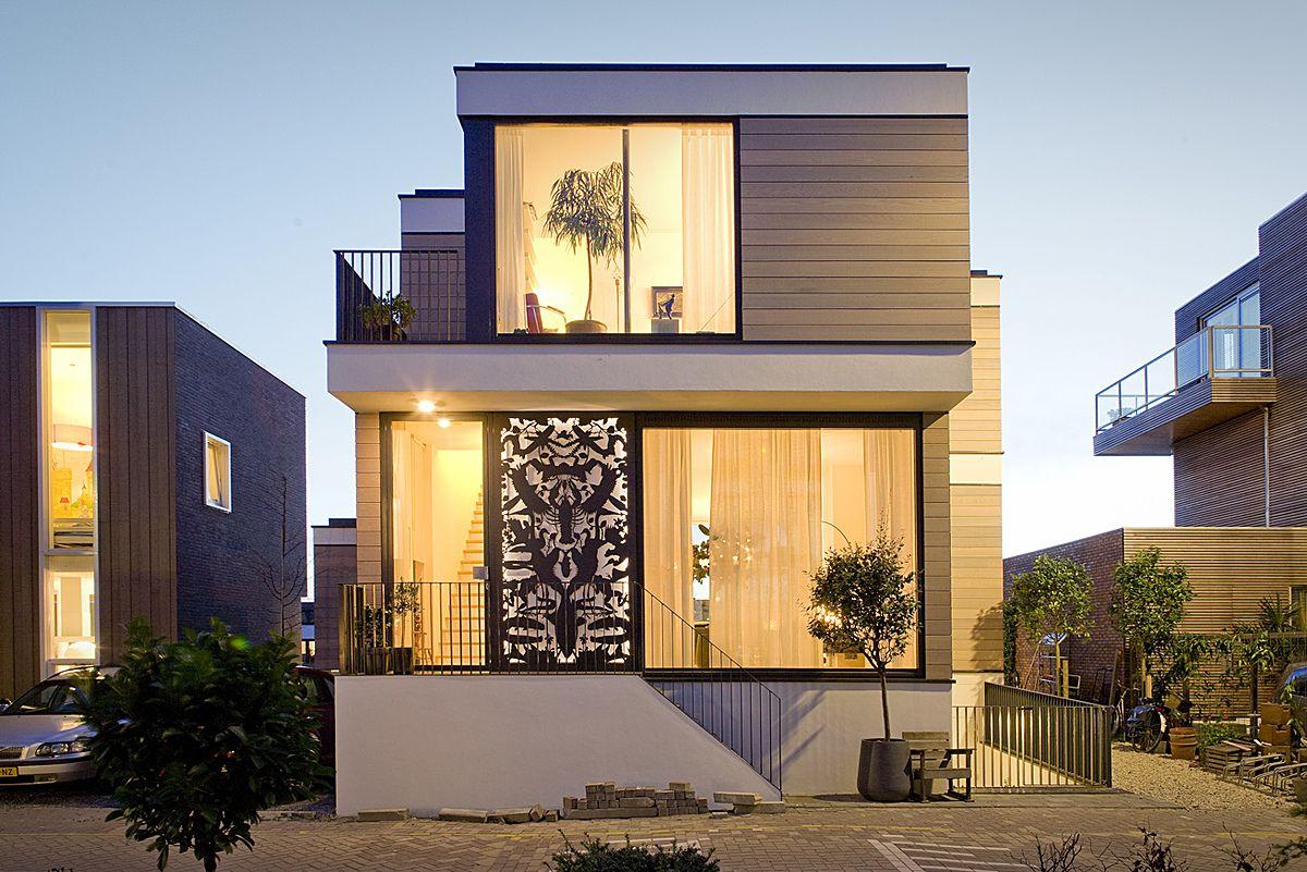95 ideias de casas modernas → fachadas projetos e fotos