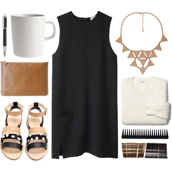 """casual little black dress"" by @Matti Yazzie Yazzie Yazzie Yazzie Franks on @Polyvore #ootd #LittleBlackDress"