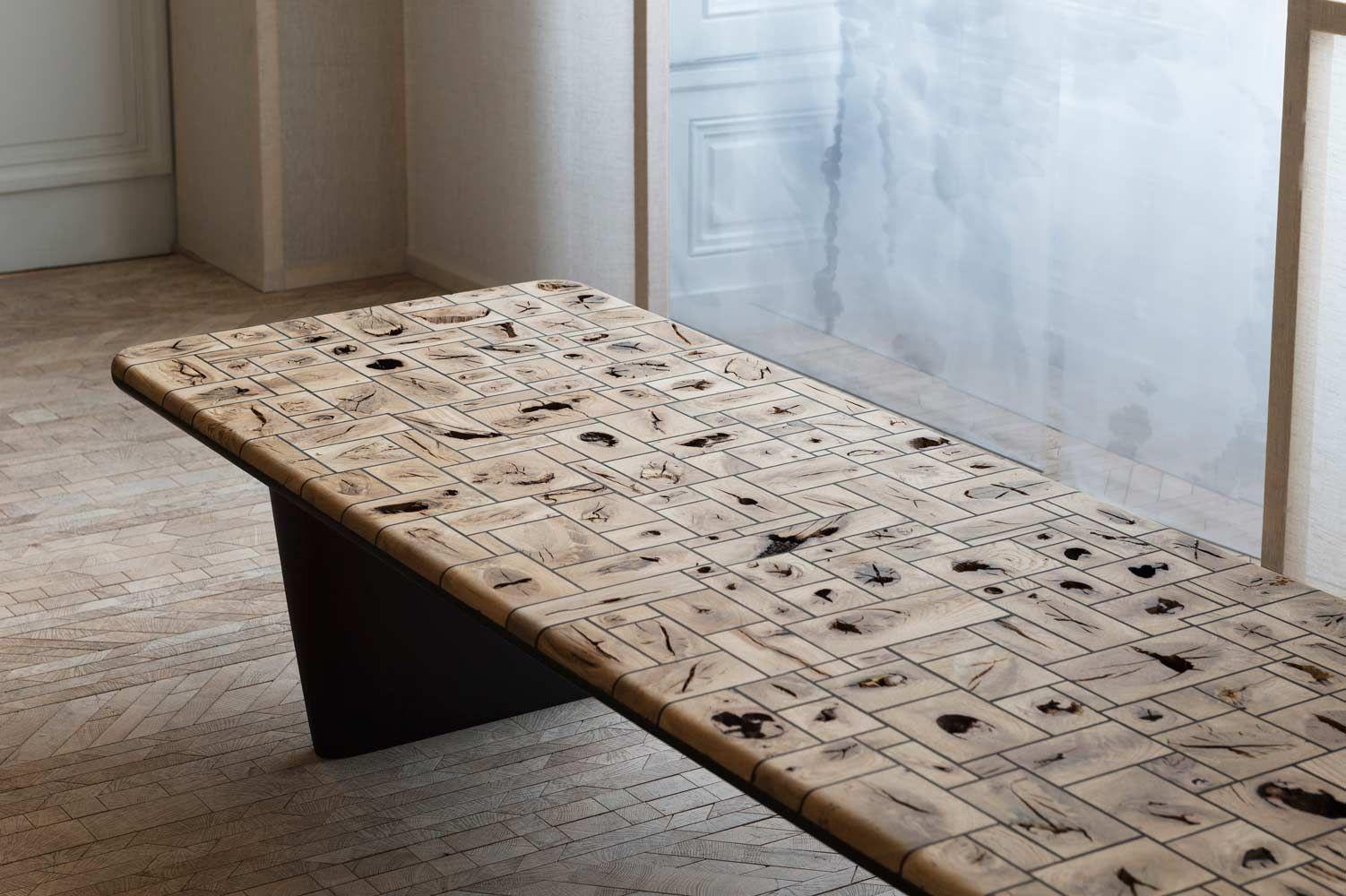 Du Bois Dans Tous Ses Etats Oscar Ono Wood Table Design Wood Table Woodworking Furniture Plans