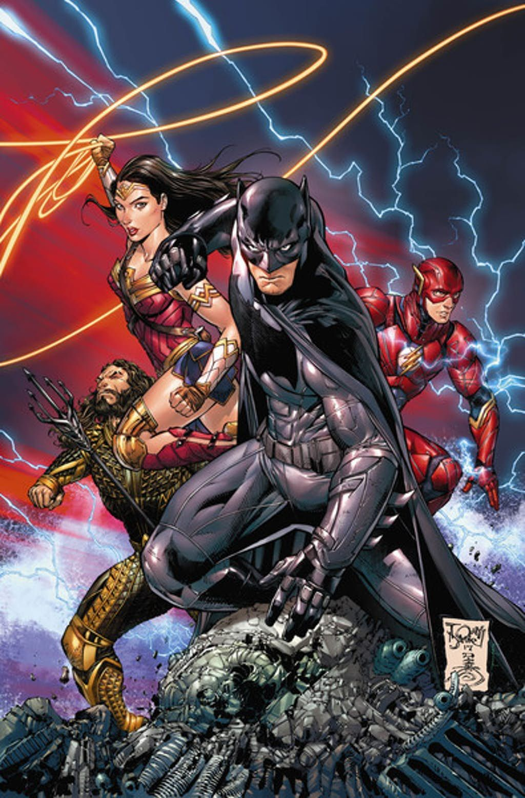 Comics Final Justice League Movie Variant Covers Put The
