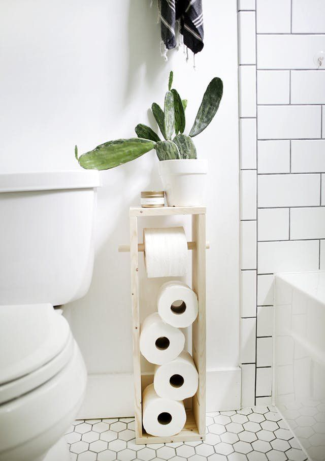 One Tiny, Fun Thing You Can Do For Your Bathroom Under $10 #diyinterior