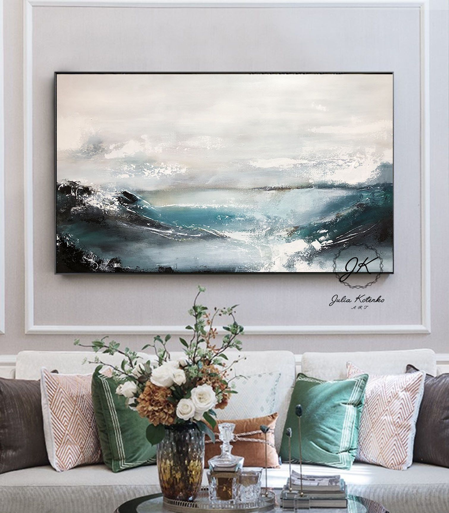 Abstract Painting Large Wall Art Textured Art Large Canvas Art Landscape Art Original Modern Abstract Pa Large Wall Art Large Canvas Art Abstract Painting