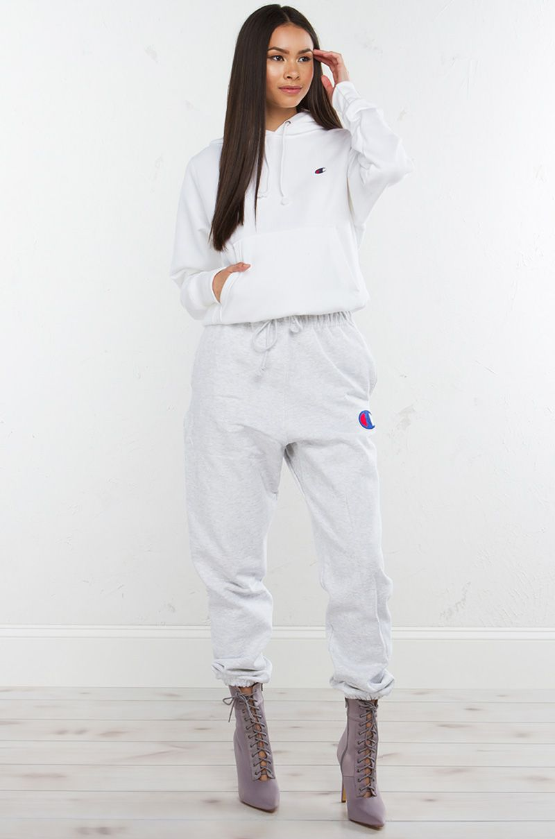 9cc04445ee19d Champion Sweatpants in Silver Grey | essentials in 2019 | Champion ...