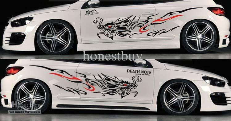 Car Body stickers ,Dragon Totem vehicle stickers