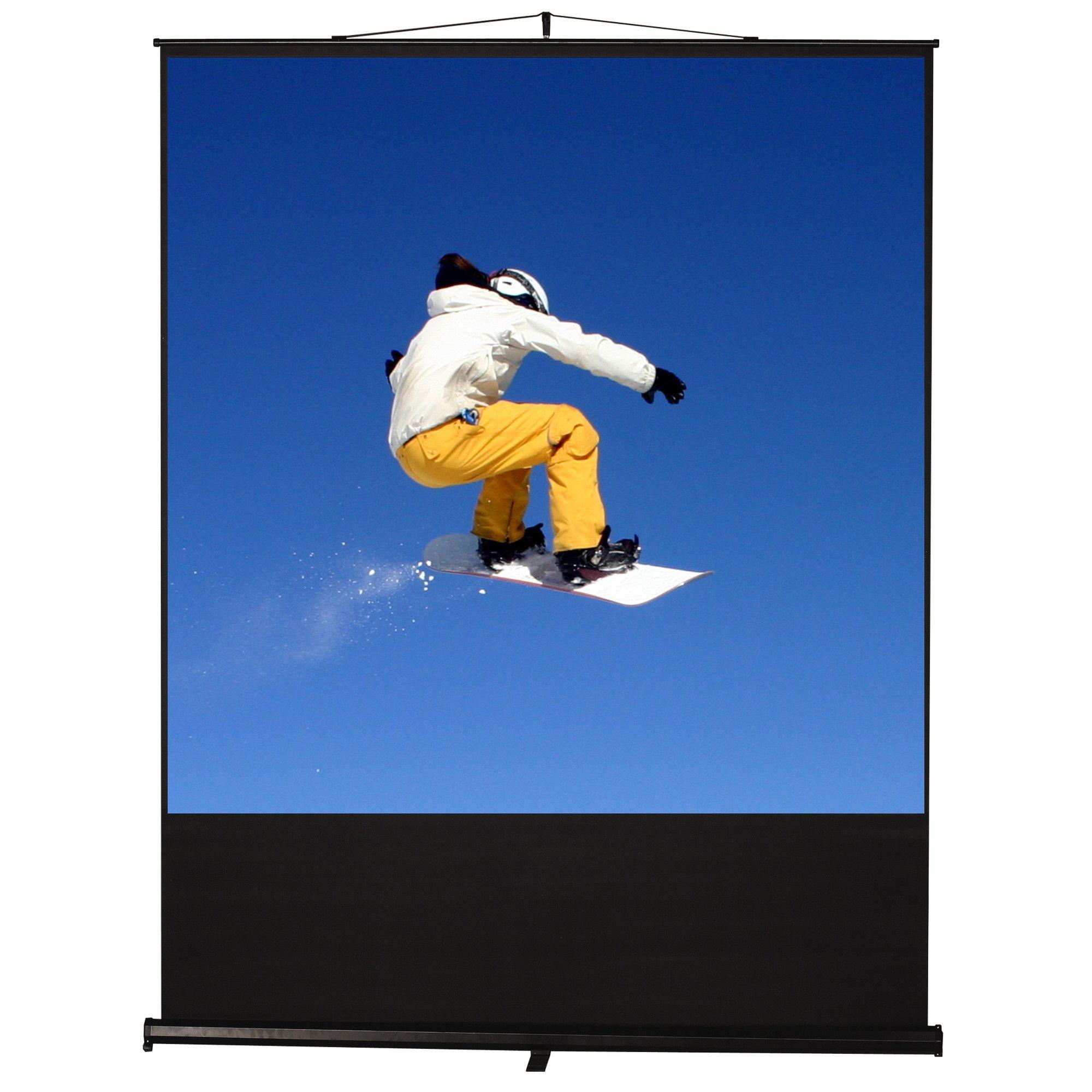 "Clarity Matt White 100"" Projection Screen"