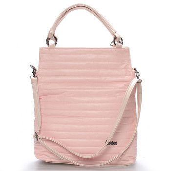 b58d44e2a9  novakolekce  Carine Jemnost a velikost se Vám zalíbí v každém detailu  růžové kabelky Madison