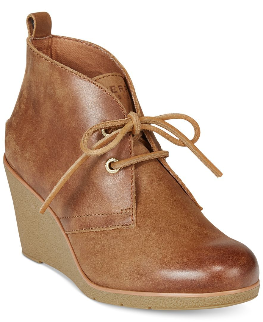 a963337f41a Sperry Women s Harlow Wedge Booties