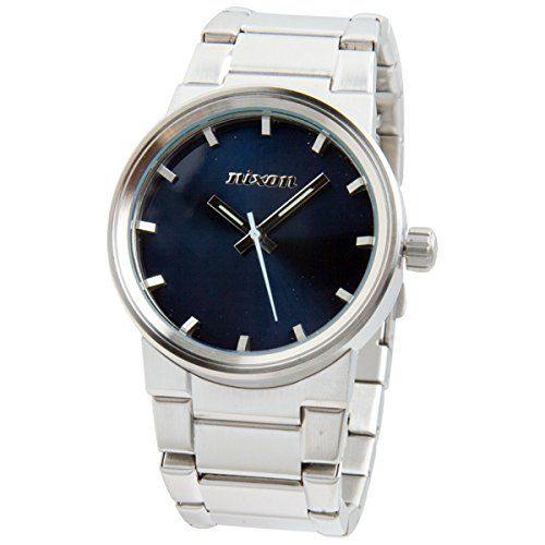 Nixon Cannon Watch - Men's Blue, One Size ** Read more reviews of the product by visiting the link on the image.