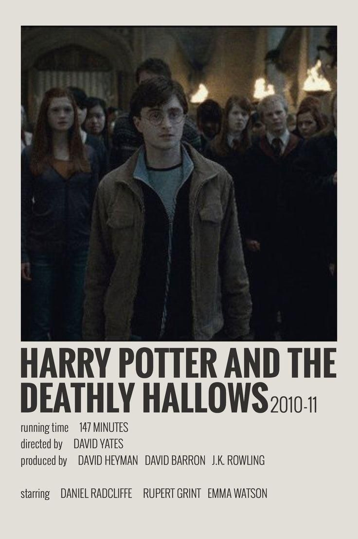Alternative Minimalist Movie Show Poster Hp The Deathly Hallows Made By Me Alter Minimal Movie Posters Film Posters Minimalist Harry Potter Movie Posters