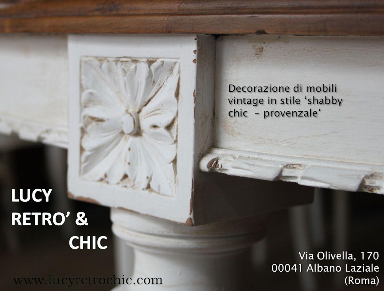 Albano Mobili ~ Tavolo in stile luigi xvi decorato in stile provenzale mobili