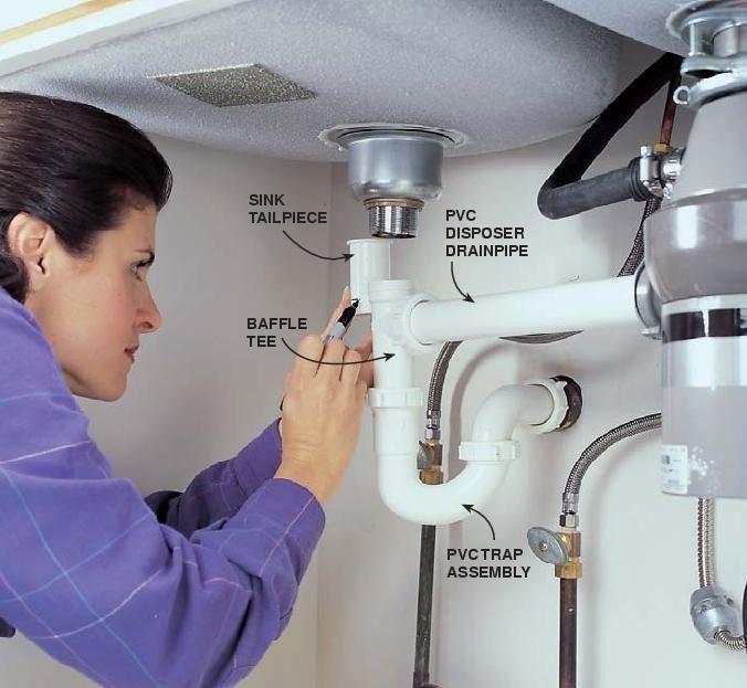 Kitchen Sink Plumbing Repair Plumbing Repair Plumbing Sink Drain