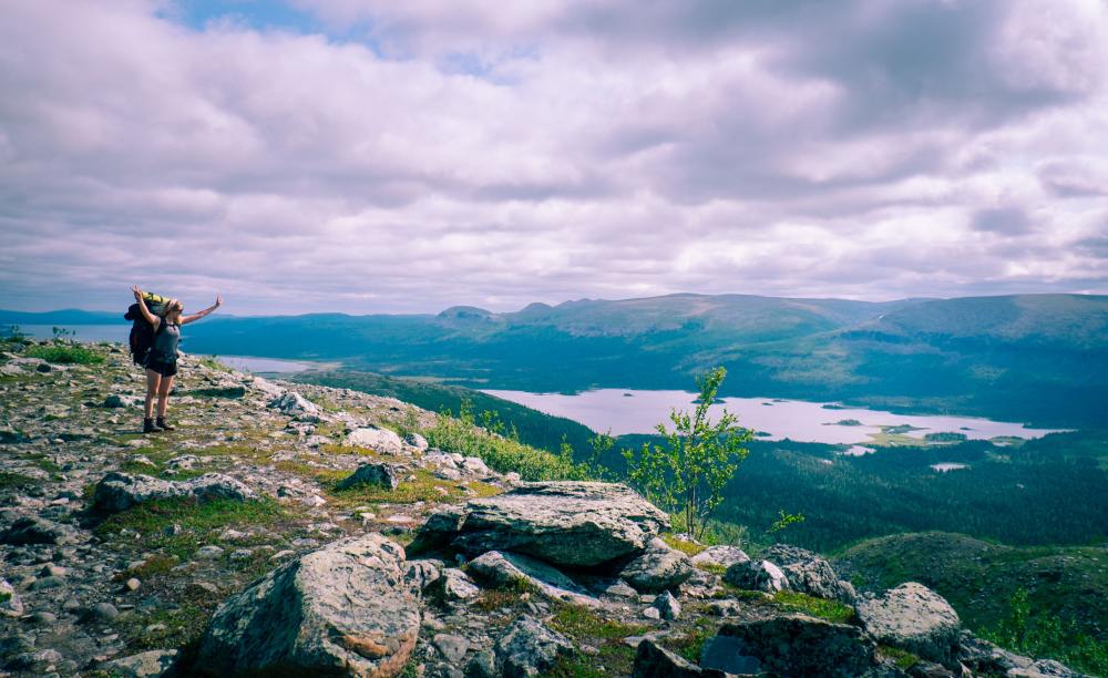 Fjällvandring längs Kungsleden | Kvikkjokk till Saltoluokta