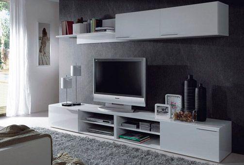 Mueble de sal n para tv composici n para el sal n en - Ikea muebles de salon baratos ...