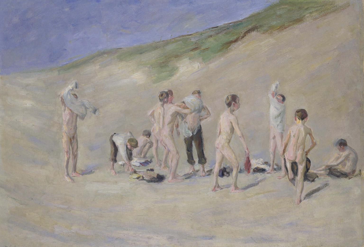 Max Liebermann –  After Bathing, 1904 |  Tate
