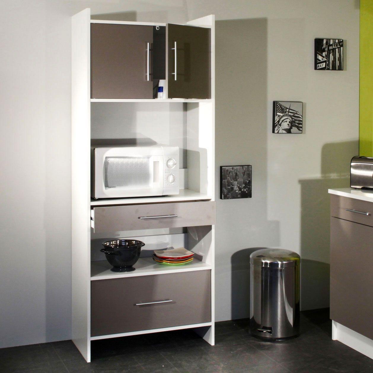 meuble cuisine meuble micro onde
