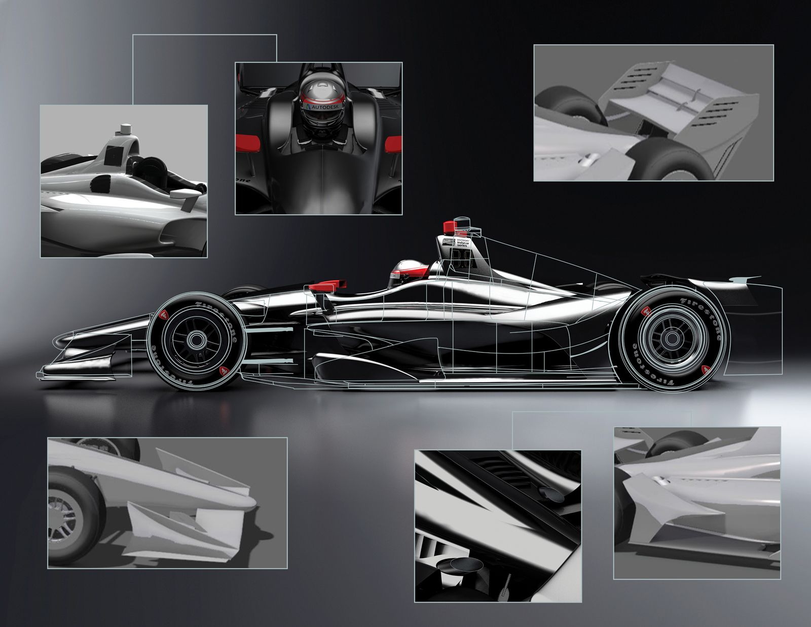2018 Indycar Dallara Single Seater First Images Are Here You Might Remember How Indycar Invited Chevy And Honda Two Years Ago T Indy Cars Indycar Series Car