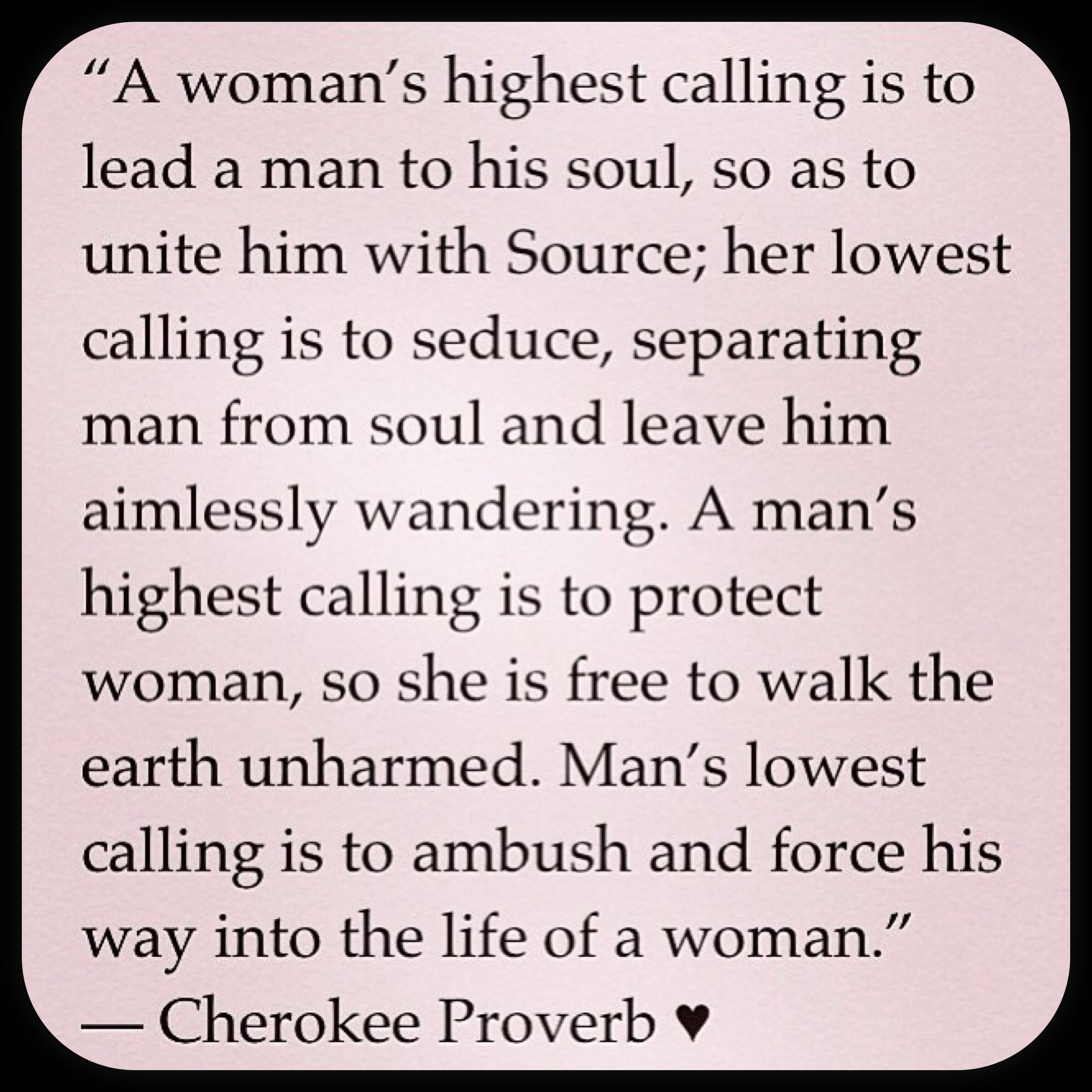 If your woman isn't a revolutionary, she will make you a slave.