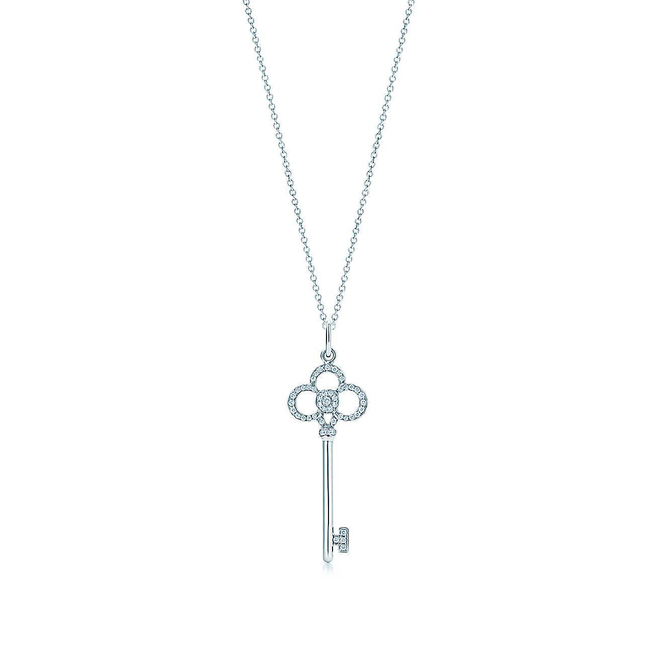 a168547a9 Crown Key Pendant | Clothes/Style | Tiffany key, Key pendant, Pendants