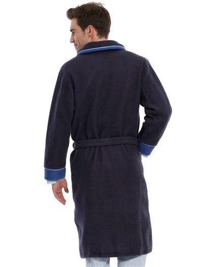 Robe De Chambre Maille Polaire Homme Daxon Robe De Chambre Robe De Chambre Homme Chambre Chaude