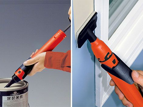 Cutting In Around Wall And Window Edges With A Paintbrush Often