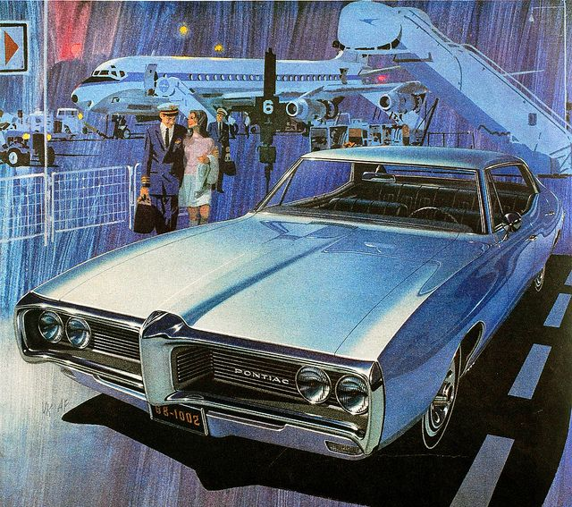 Blue Period Pontiac by paul.malon, via Flickr