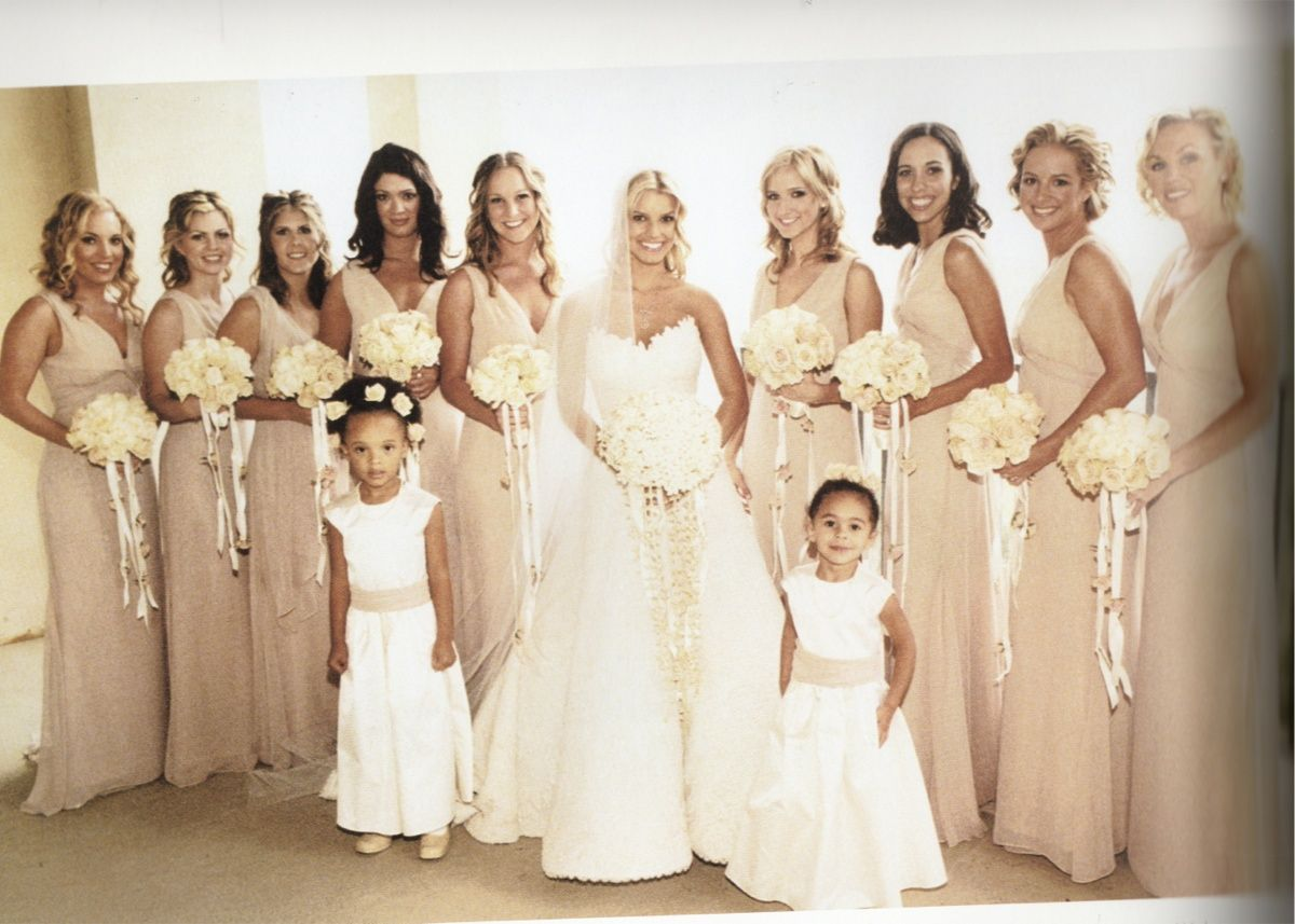 Jessica Simpson Bridesmaid Dress