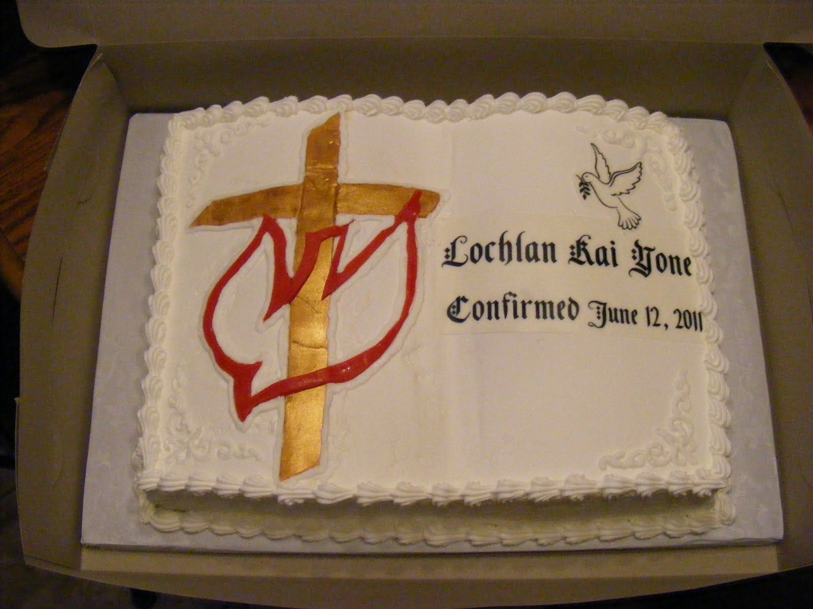 Butter Cream Cakes Decorated For Confirmation In Pinterest