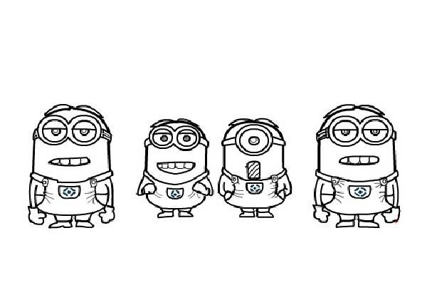 Coloring Pages {Minions}