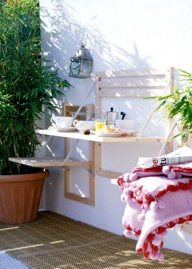 Schmalen Kleinen Balkon Gestalten Mehr Ideen Eine Grune Oase Ist