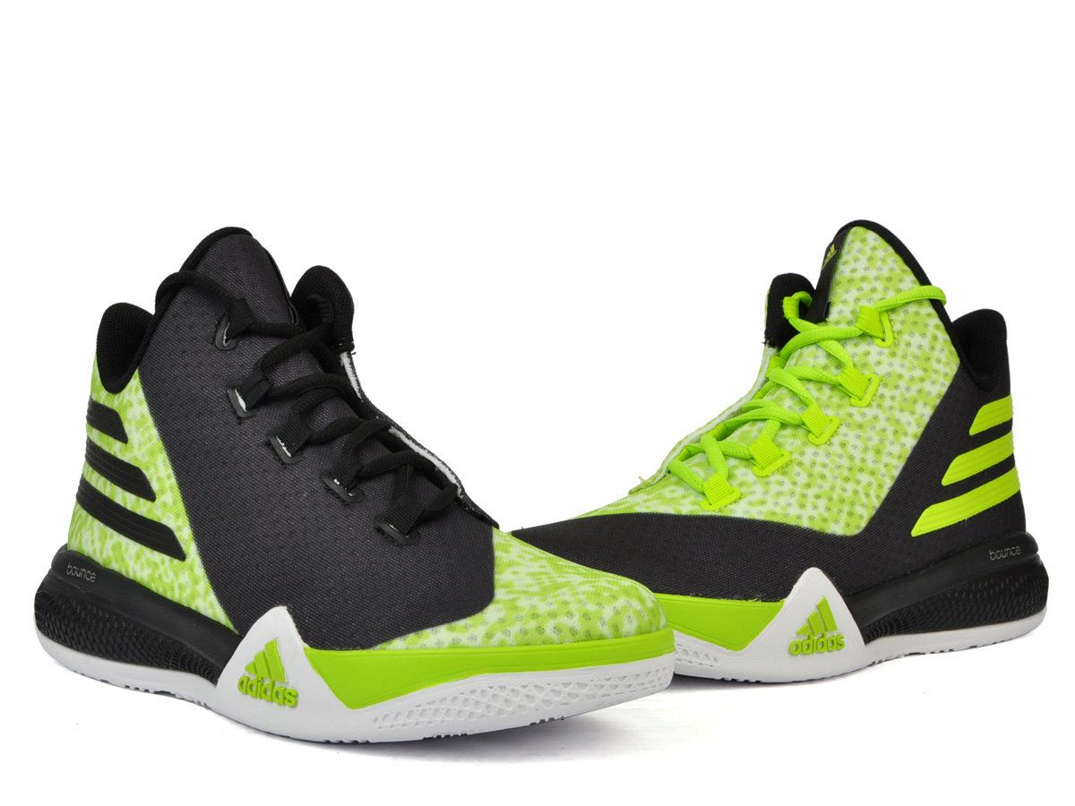 ADIDAS LIGHT THEM UP 2 BOUNCE GREEN BLACK BASKETBALL AQ7587 #adidas  #adidaslightthemup #adidasbounce