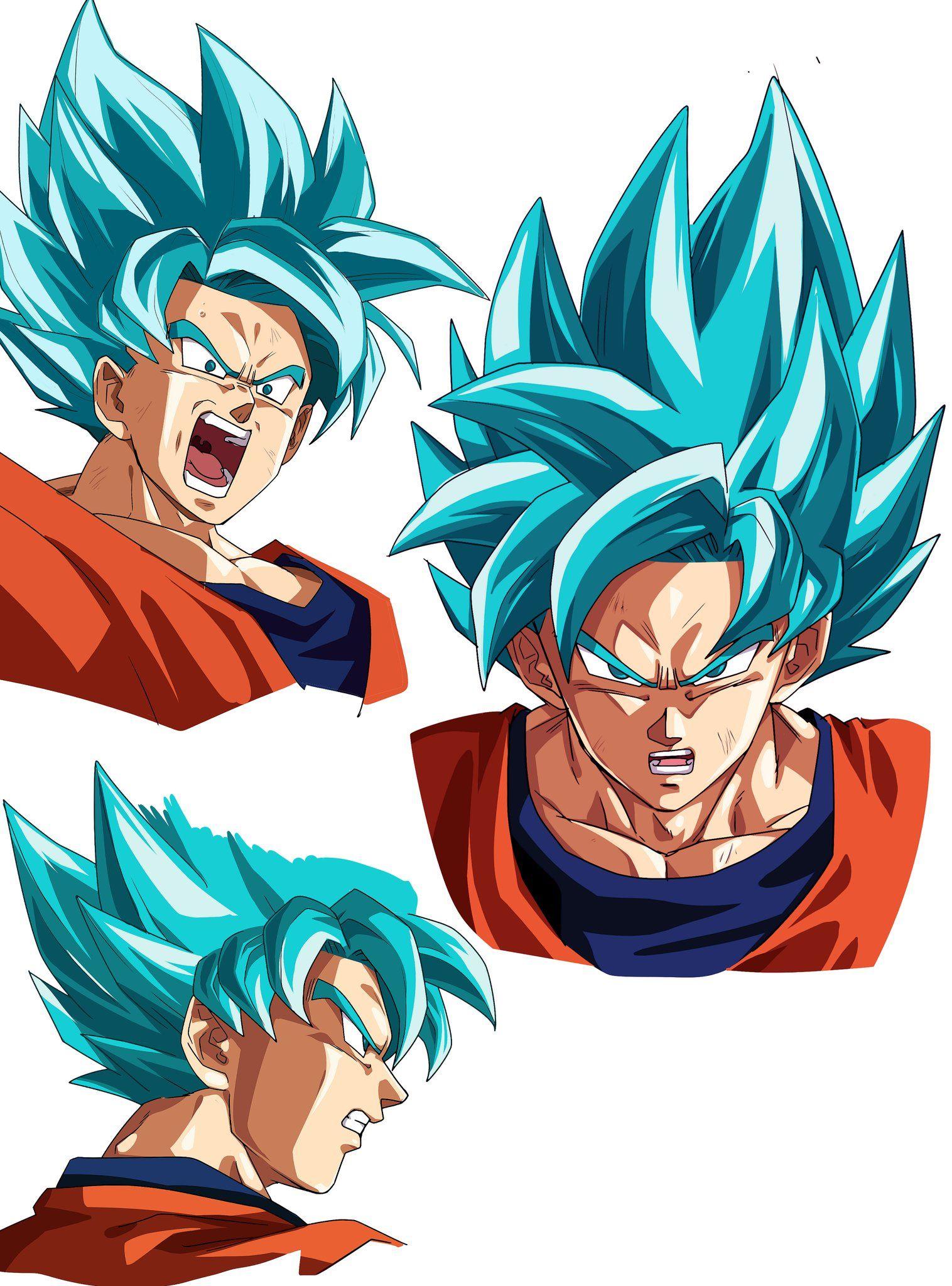 Goku Super Saiyan Blue Reference Dragon Ball Art Dragon Ball Z Dragon Ball