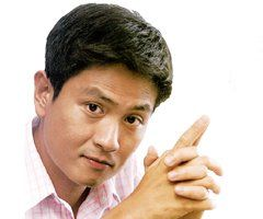 Singapore famous actor Chew Chor Meng