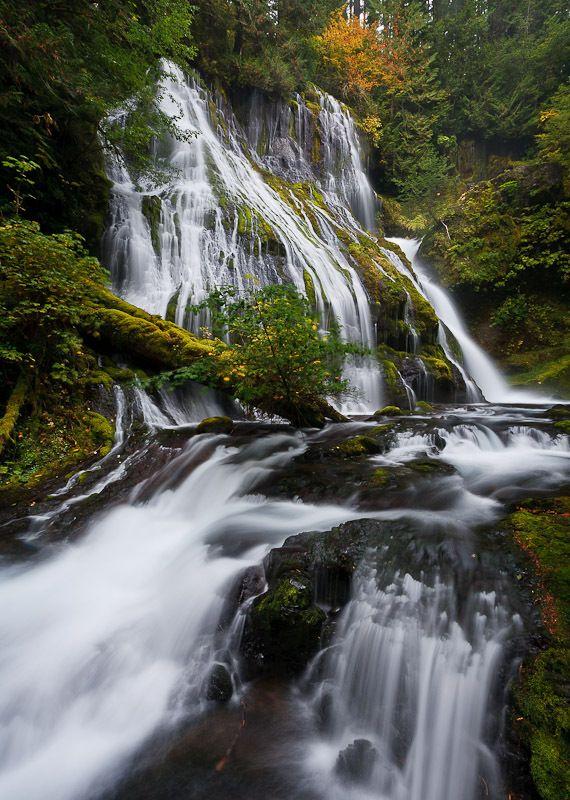 Middle Riley Creek Falls, Skamania County, Washington
