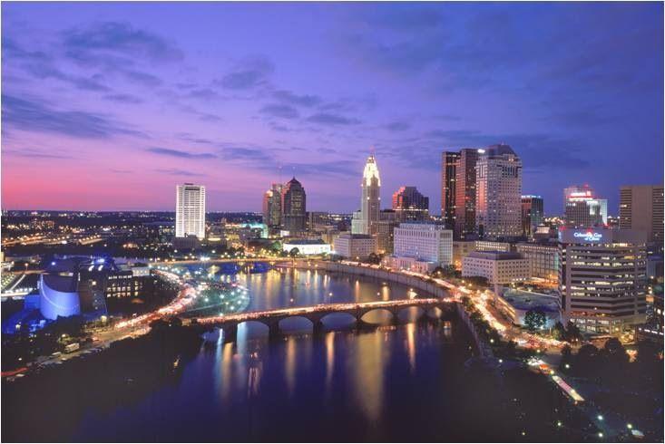 Columbus Ohio City Of Columbus Best Places To Propose Columbus Skyline