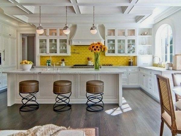 Choisir un carrelage mural de cuisine pour une ambiance fraîche et ...