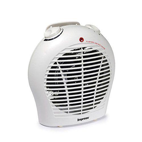 Impress 1500 Watt 2 Speed Fan Heater Patilen Com Deals Best Space Heater Heater Space Heater
