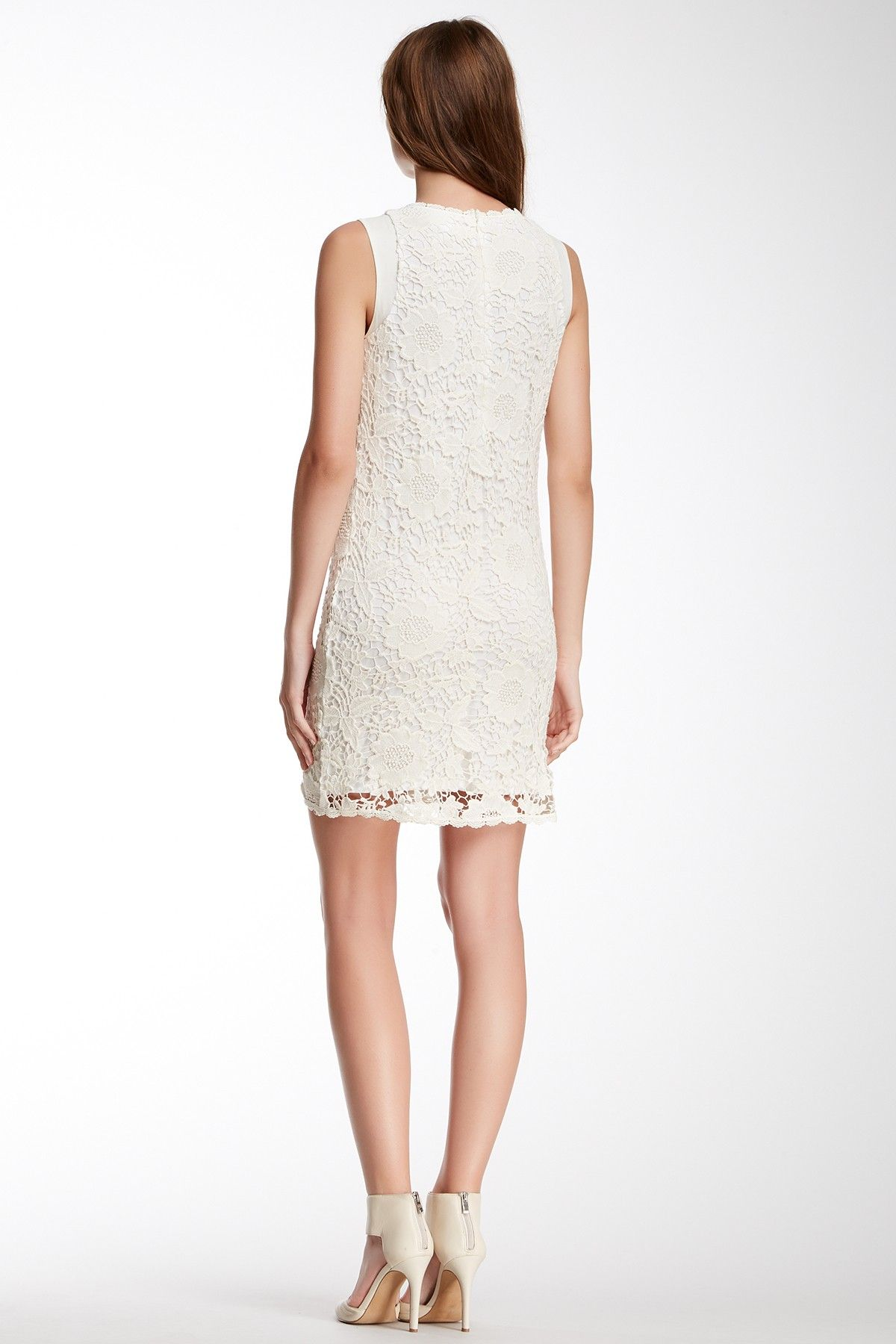 Velvet By Graham & Spencer Cotton Crochet Lace Sleeveless Dress by Velvet By Graham & Spencer on @nordstrom_rack