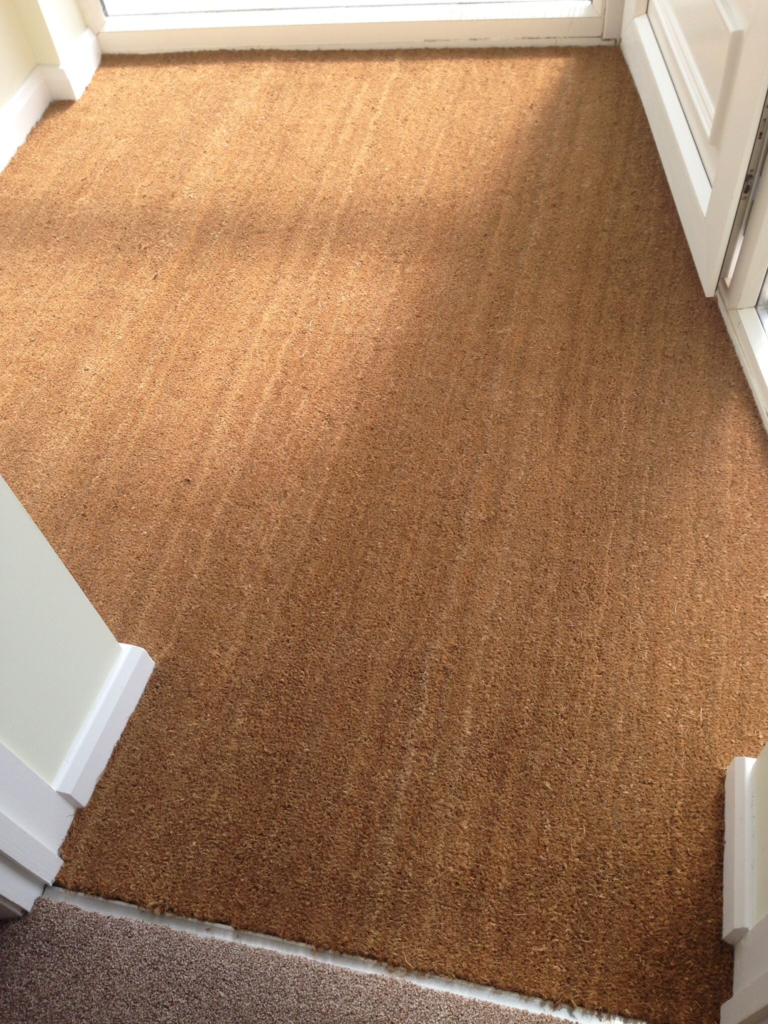 Best Coir Barrier Mat Natural Installed By Tayflor Carpets 400 x 300