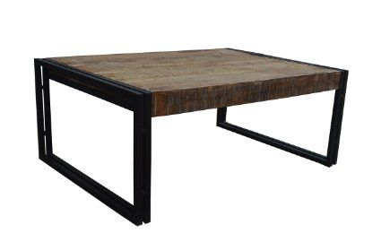 Wohnzimmertisch Metall ~ Couchtisch massivholz metall industrial design design tisch