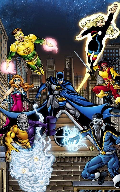 Batman and The Outsiders GeoForce Halo Katana Black