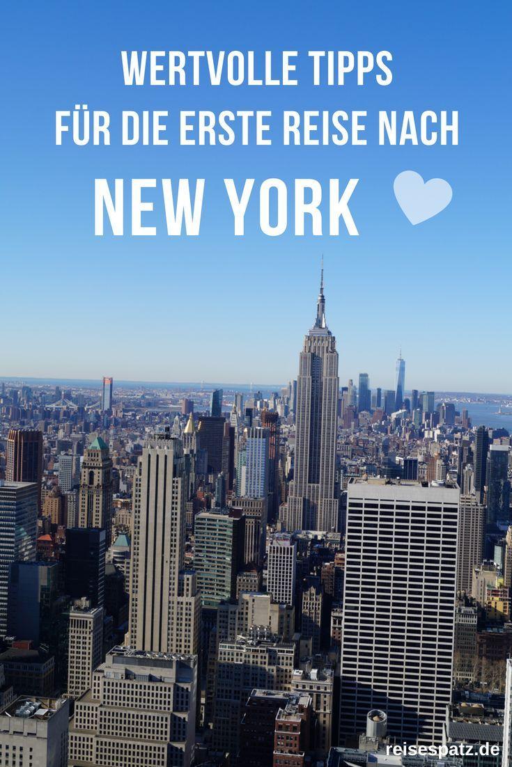 Der ultimative New York Guide für Anfänger - alle Tipps
